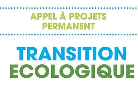 APPEL À PROJET TRANSITION ÉCOLOGIQUE