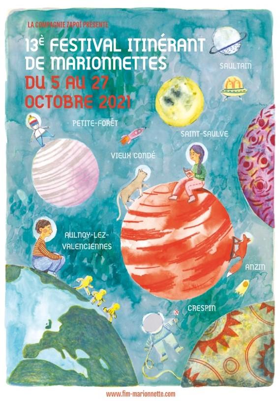 13ème édition du Festival Itinérant de Marionnettes du Valenciennois