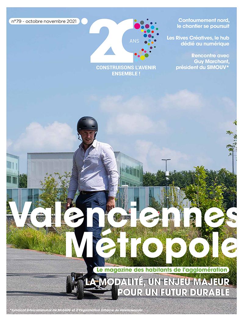 Le dernier magazine de Valenciennes Métropole est en ligne !